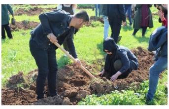 Eğitim Bir-Sen'den Urfa'ya  'yeşil' bir katkı