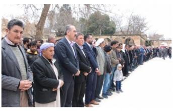 Urfa'da 'cami saldırısı' için gıyabi namaz
