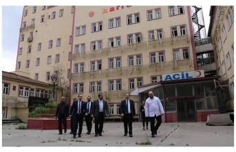 Urfa'nın atıl hastaneleri için flaş adım!