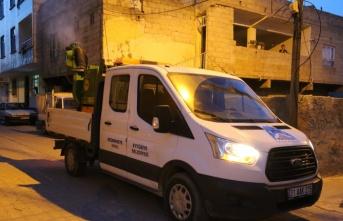 Eyyübiye Belediyesi, İlaçlamayı Haşerelerin Türediği Noktalarda Yapıyor