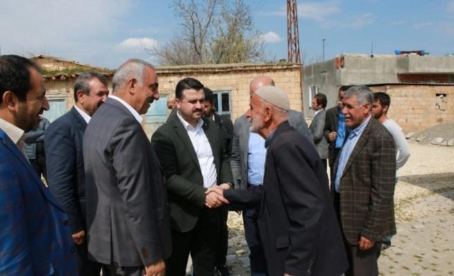 """Ali Bayık: """"Hilvan'a Organize Sanayi Bölgesi Kurarak İşsizliği Bitireceğiz"""""""