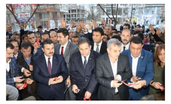 MHP Meclis Üyesi Adayı Oktay Doğan, seçim ofisi açtı.