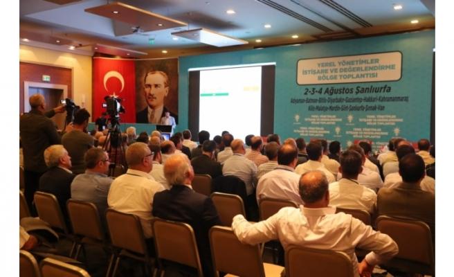 Başkanlar Urfa'da deneyimlerini paylaştı