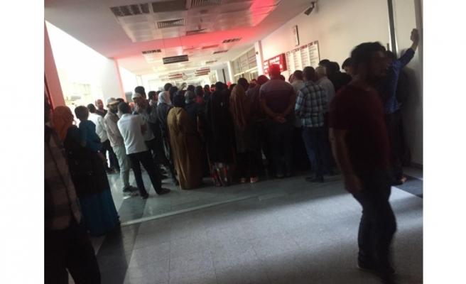 Viranşehir'de vatandaşlar yoğunluktan şikayetçi