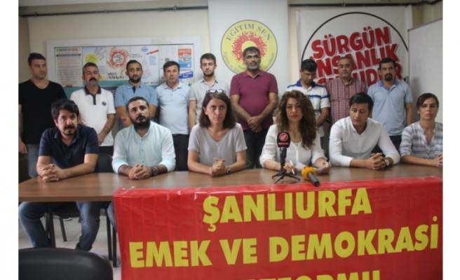 Urfa'dan tepki: Kürt halkı yok sayıldı!