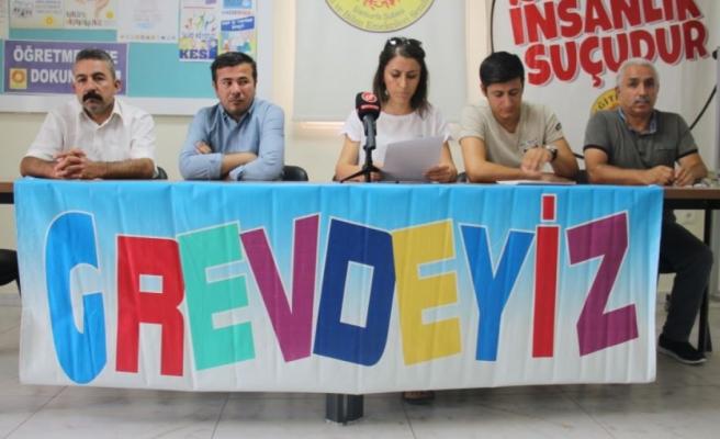 Urfa'dan 'grevli' tepki: İş bırakacağız