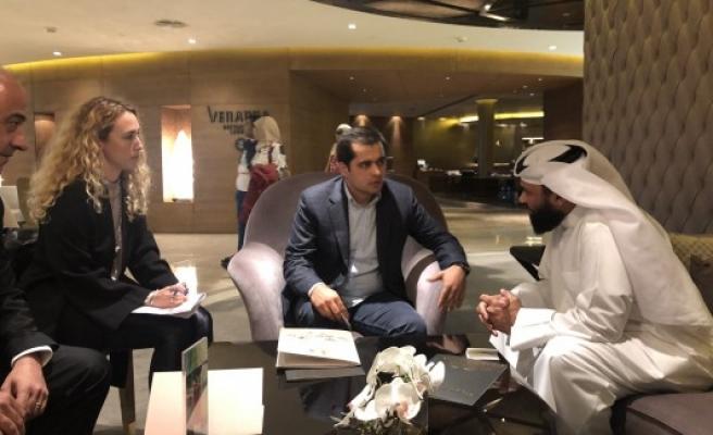 Harran'da Katarlılarla görüşmeler olumlu sonuçlandı