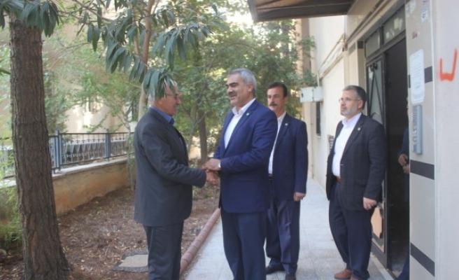 HÜDA PAR, Şanlıurfa'daki siyasi partileri ziyaret etti