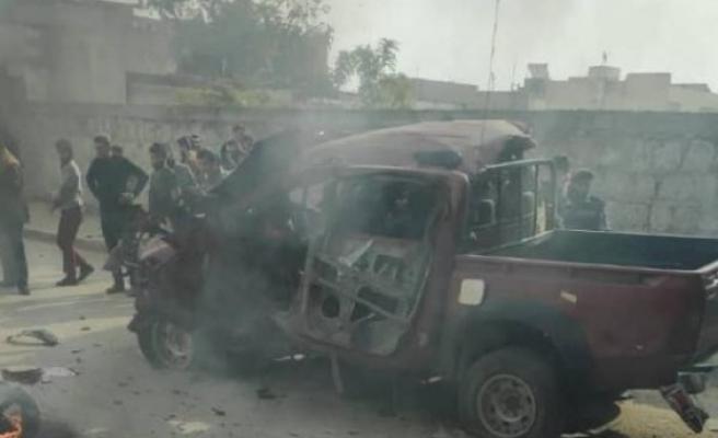 Suriye'de patlama: 2 ölü, 3 yaralı