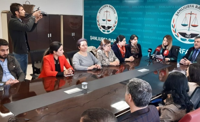 Urfa Barosu: Geçtiğimiz yıl 363 kadın öldürüldü