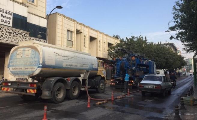 ŞUSKİ, Sarayönü'nde temizlik yaptı