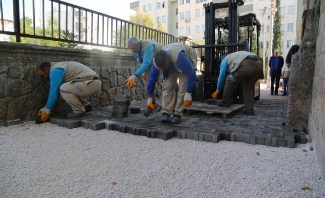 Haliliye'de kış hazırlıkları devam ediyor