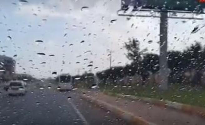 Haftalar sonra Urfa'ya yağmur yağdı