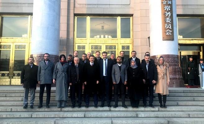 AK Parti heyeti Çin'de
