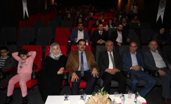 Haliliye'den öğretmenlere sinema etkinliği