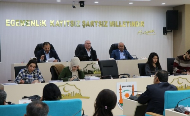 Şanlıurfa Büyükşehir Belediyesinin bütçesi onaylandı