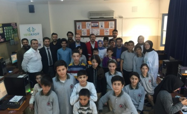 1010 Kâşif Projesi, Şanlıurfa'da öğrencilerle buluştu