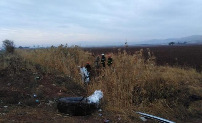Urfa-Akçakale yolunda kaza: 4 yaralı
