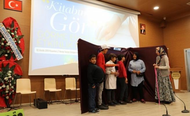 Haliliye'de 'Kitabımı Gör' programı düzenlendi