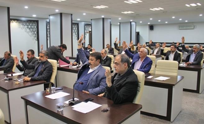 Haliliye'de önergeler komisyona sevk edildi