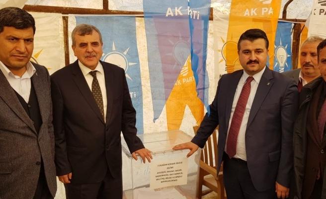 AK Parti delege seçimleri başladı