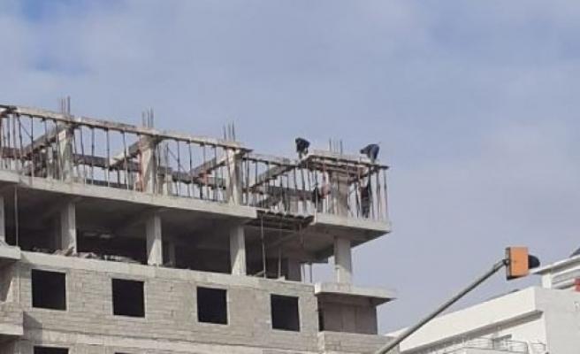 Akçakale'deki işçilerin tedbirsiz çalışması tepkileri topluyor