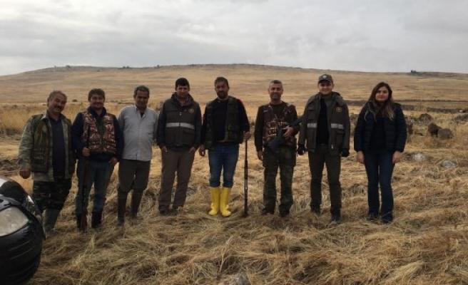 Şanlıurfa'da 'kaçak avcı' denetimi yapıldı