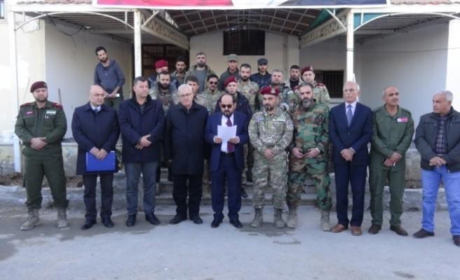 Suriye Geçici Hükümeti'nden PKK'ya katılanlara af çağrısı