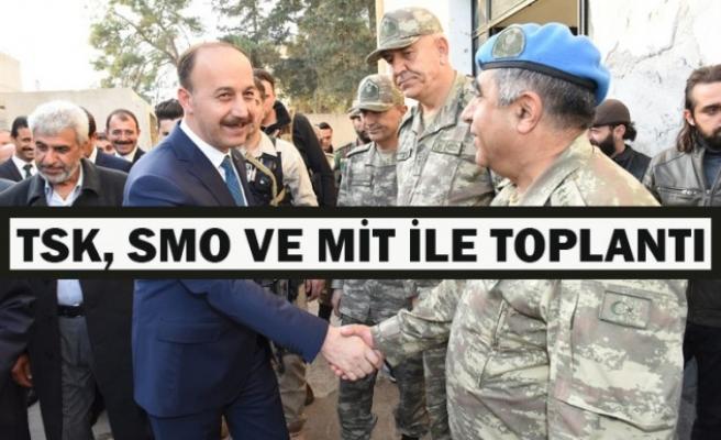 Urfa Valisi açıkladı: Suriye'de kolluk güçleri görevlendirilecek