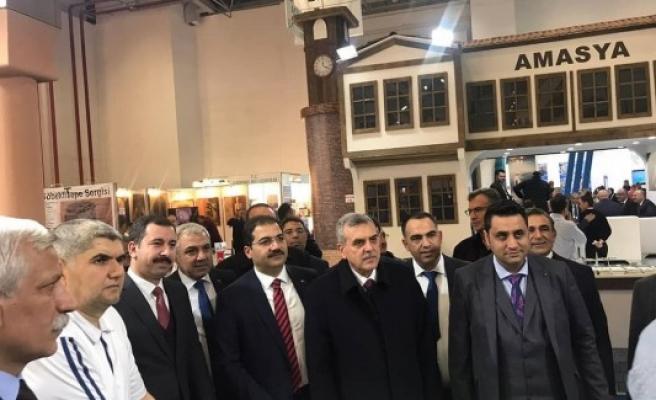 İzmir Fuarında Haliliye ve Göbeklitepe'ye ilgi