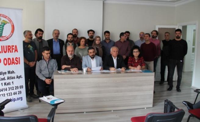 Urfa Tabip Odasından 'izin' açıklaması: Hakkımızı istiyoruz