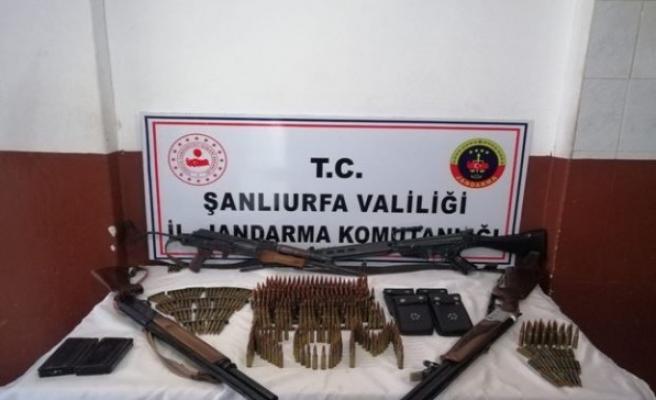 Urfa'da silah kaçakçılığı operasyonunda 5 gözaltı