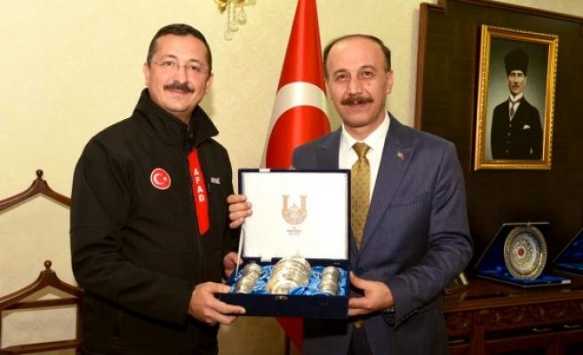 AFAD Başkan Yardımcısı Urfa'da