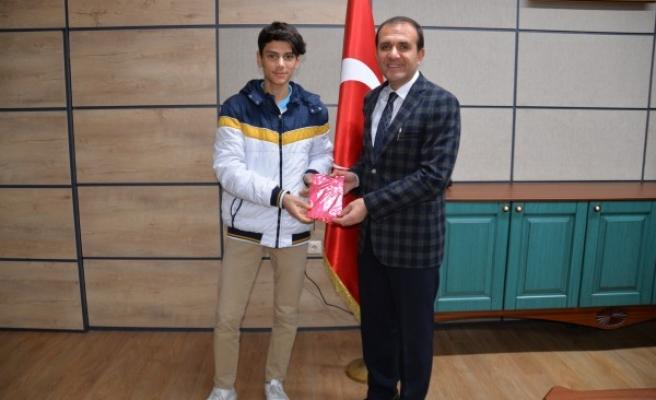 Urfalı öğrenci, Türkiye'de dereceye girdi