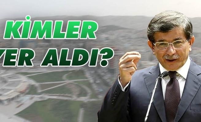 Davutoğlu'nun partisinde Urfalı isimler dikkat çekti