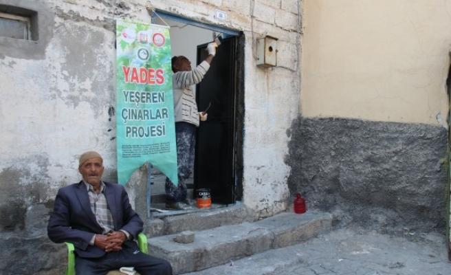 Şanlıurfa'da 170 yaşlının evi onarıldı