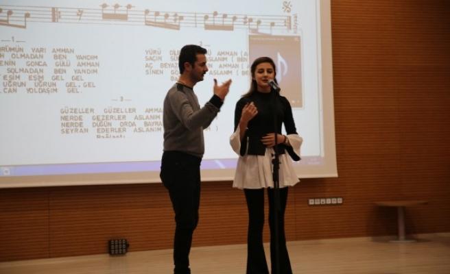 Haliliye'nin THM Korusu konsere hazırlanıyor