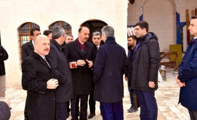 Vilayetler Birliği Yönetim Kurulu VE Hotels Şanlıurfa'yı inceledi