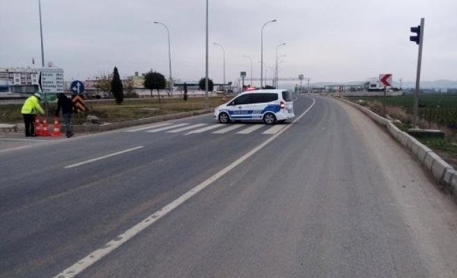 Şanlıurfa'daki çevre yolunda şüpheli paket paniği (FOTO VE VİDEOLU)