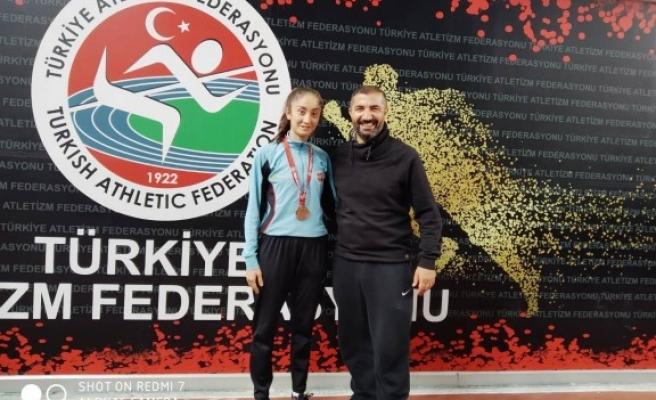 Şanlıurfalı Nidanur, Türkiye üçüncüsü oldu