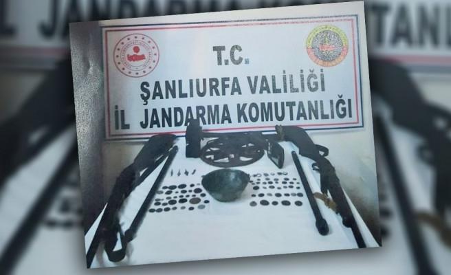 Şanlıurfa'da tarihi eser kaçakçılarına operasyon yapıldı