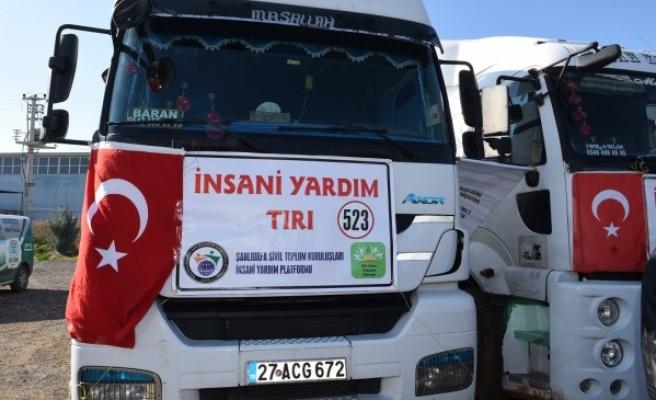 İdlib'e 3 TIR İnsani Yardım malzemesi gönderildi