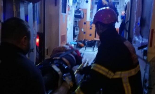 Urfa'da tek taraflı kaza: 2 yaralı