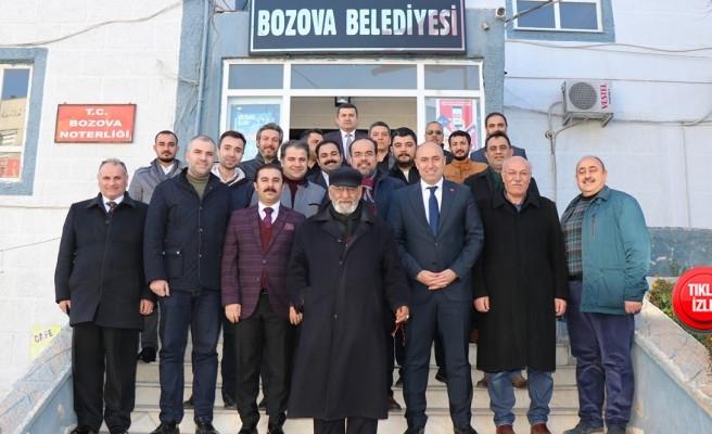 Bozova'da misafirler için organizasyon yapıldı