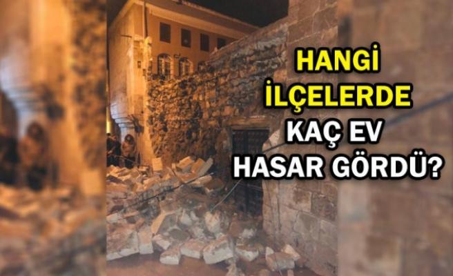 İşte Şanlıurfa'da deprem bilançosu! Asansörlere dikkat