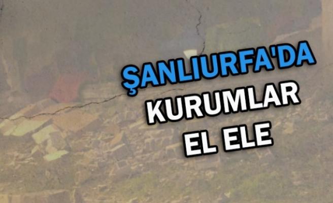 Şanlıurfa'da kriz masası kuruldu! Elazığ'a destek yolda