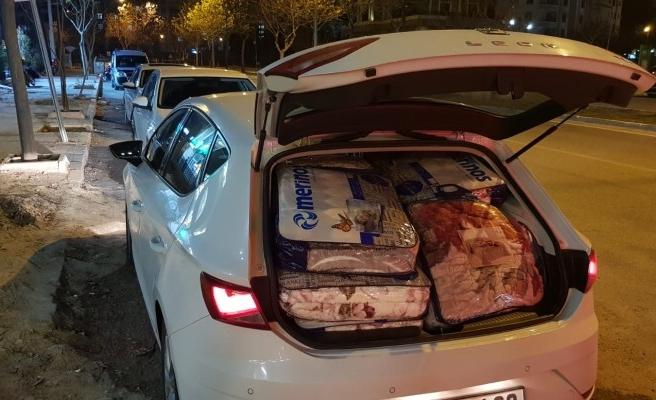 Urfa'dan Elazığ'a 3 araç yola çıktı