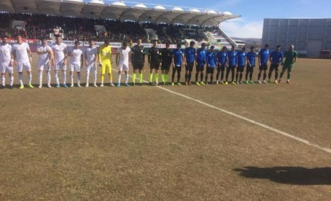 Karaköprü Belediyespor 2-0 yenildi