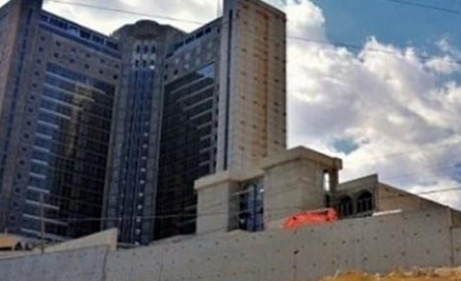Urfa'da inşaat halindeki otel satışa çıktı