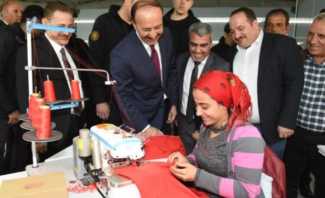 Viranşehir OSB'deki ilk tekstil fabrikası açıldı